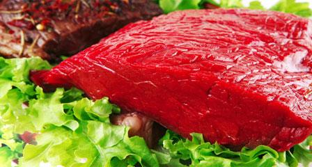 Slager vlees